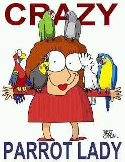 010718 crazy parrot lady